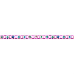 Rhinestone Banding - Light Pink/Crystal AB
