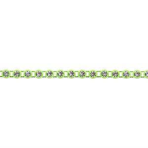 Rhinestone Banding - Mint/Crystal