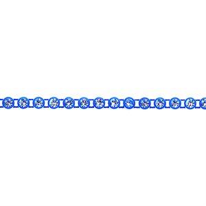 Rhinestone Banding - Royal Blue/Crystal