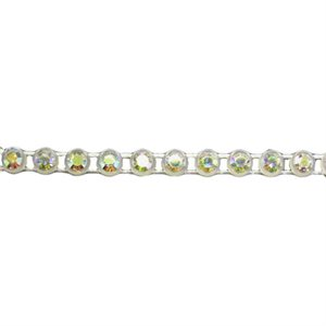 Rhinestone Banding - Transparent Casing/Crystal AB