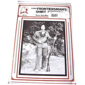 Early Frontier Man's Shirt Pattern