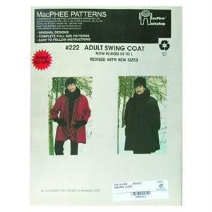 Adult Swing Coat Pattern
