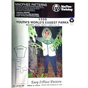 World's Easiest Parka For Youth Pattern