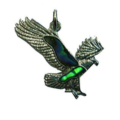 Pendant - Abalone Eagle