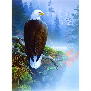 Eagle in the Mist Puzzle (1,000 Pieces)