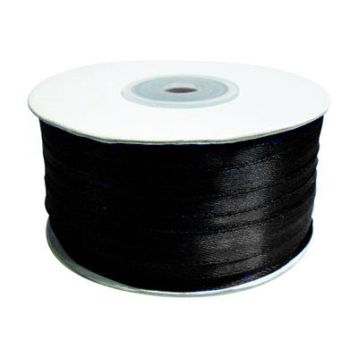 Satin Ribbon - Black (100 m)