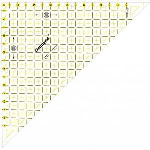 """Omnigrid - Right Triangle (1/2"""" - 8"""" Square)"""