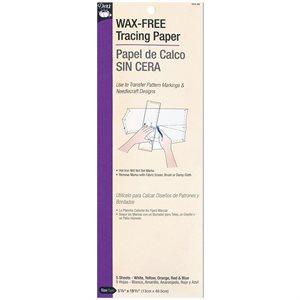 Wax-Free Racing Paper