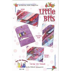 Little Bits Eye Glass Case, Wallet, Purse Pattern