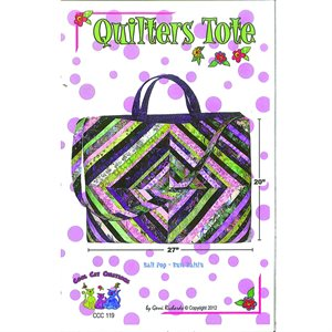 Quilters Tote Pattern