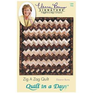 Quilt Pattern - Zig-a-Zag (Eleanor Burns)