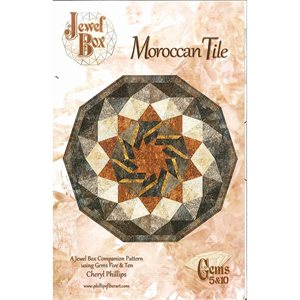 Jewel Box - Moroccan Tile Pattern