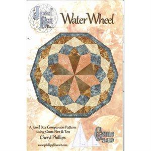 Water Wheel Pattern With Jewl Box Gem Tools