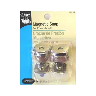 Magnetic Snaps - Square, 19mm (2 Sets)