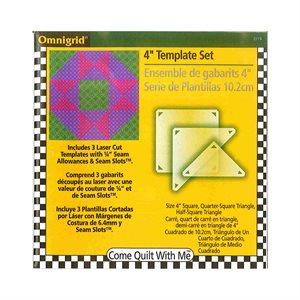 "Omnigrid 4"" Basic Template Set"