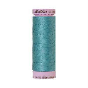 Cotton Thread - Blue-Green Opal (Silk Finish)