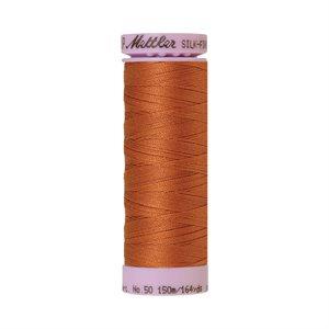 Cotton Thread - Amber Brown (Silk Finish)