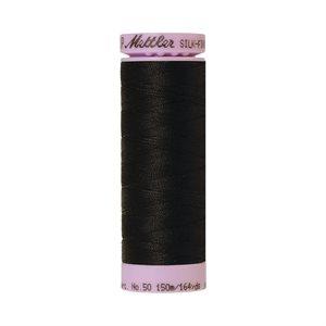 Cotton Thread - Black (Silk Finish)