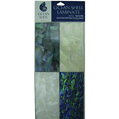 Shell Veneers - Dawn Tints (4 Pack), 50 x 100 mm