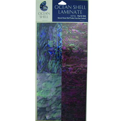 Shell Veneers - Natural Tints (4 Pack), 50 x 100 mm