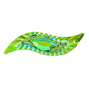 Sew-On Piikki Stones (10 Pieces) 14 x 47 Silouhette Lime