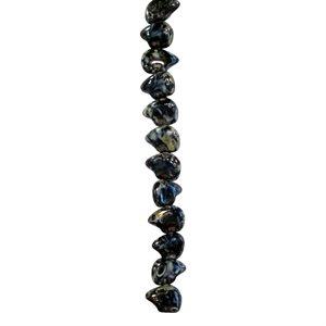 Glass Bears on a Strand - Black