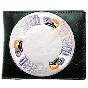 Mens Wallet - Eagle Drum
