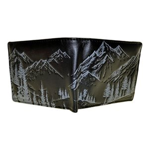 Mens Wallet - Mountain Scene