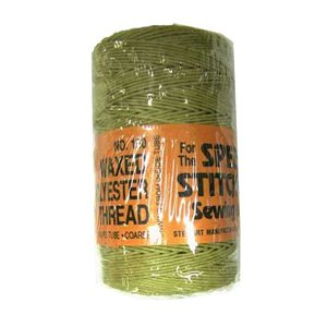 Waxed Polyester Thread - Coarse (180 yd.)